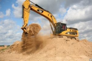 Услуга разработки песчаного карьера