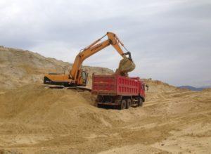 Песок с карьера в Нижнем Новгороде