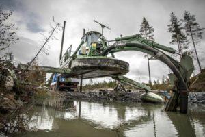 Очистка и углубление водоемов